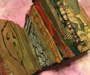 art journal, crafting, and papercraft image