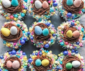 chocolate, nest, and easter image