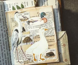 Collage, journal, and art journals image