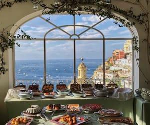 food, travel, and sea image