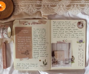 journal, vintage, and bullet journal image