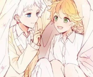 anime, couple, and norman image
