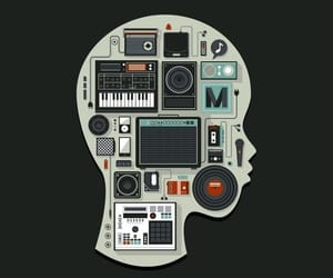 music and sketch image