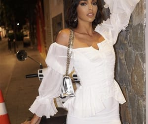 beauty, fashion, and all white image