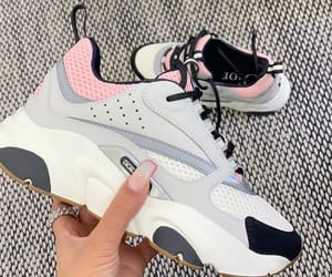sneakers, dior, and shoes image