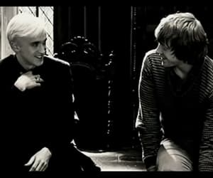 draco malfoy, harry potter, and rupert grint image