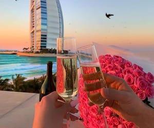 champagne, Dubai, and luxury image
