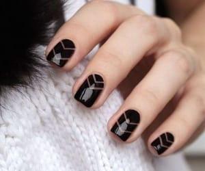 fashion, nail polish, and women image