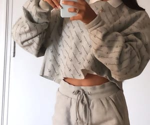 clothes, outfit, and phone image