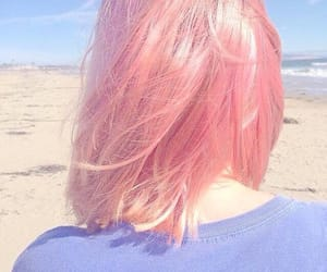 beautiful hair, blonde hair, and curly hair image