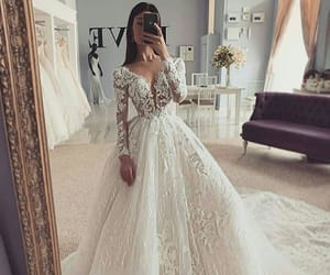 beauty, wedding, and Dream image