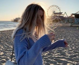 california, girl, and mood image