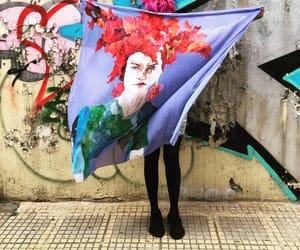 artwork, Athens, and fashion blogger image
