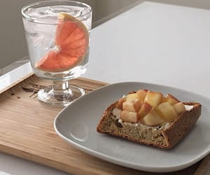 beverage, fitness, and bread image