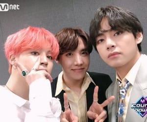 jin, taehyung, and jimin image