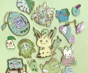 fantasy, pins, and green image