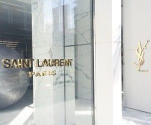 paris, YSL, and saint laurent image