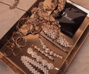 dior, jewelry, and pearls image