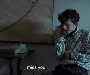 i miss you and call me by your name image