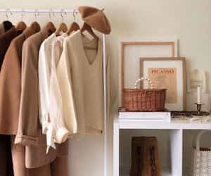 clothes rack, decoration, and decor image