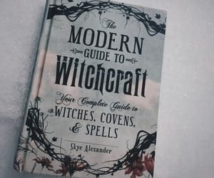 book, witch, and spell image