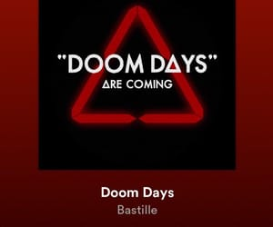 band, doom days, and bastille image