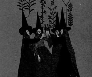 witch, magic, and art image