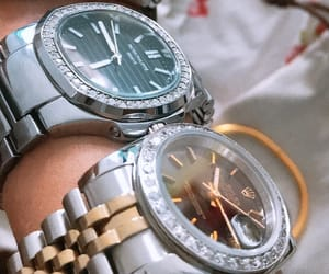 rolex, watch, and patek philippe image