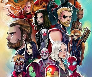 Marvel, wallpaper, and Avengers image