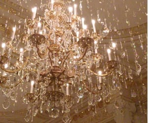 aesthetic, chandelier, and decorations image