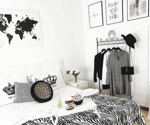 bedroom, inspiration, and décoration image