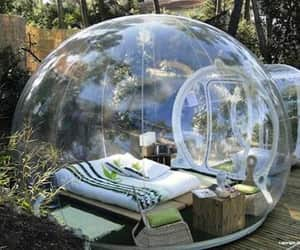 house, bubbles, and home image