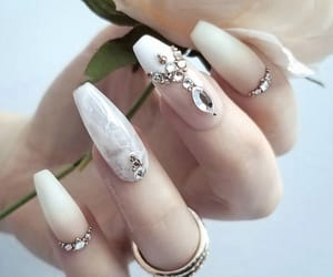 gems, marble, and nails image