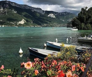 nature, travel, and boats image