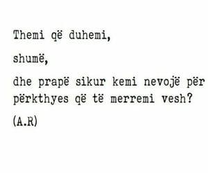 tekst, shqip, and dashuri image