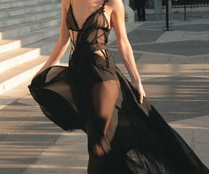 beauty, style, and black image