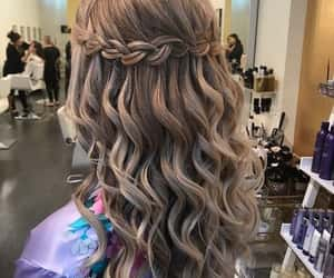 girl, hair, and hairstyles image