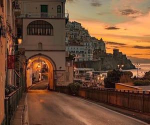sunset, beautiful, and city image