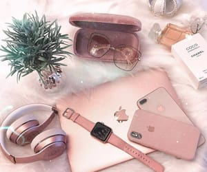 accessories, apple, and girly image