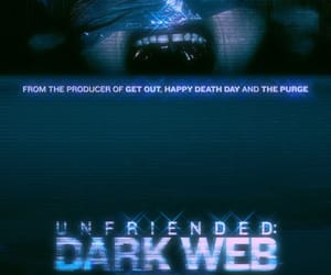 horror, unfriended, and horror movie image