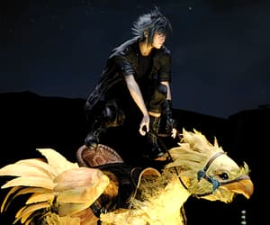 video games, noctis lucis caelum, and final fantasy xv image