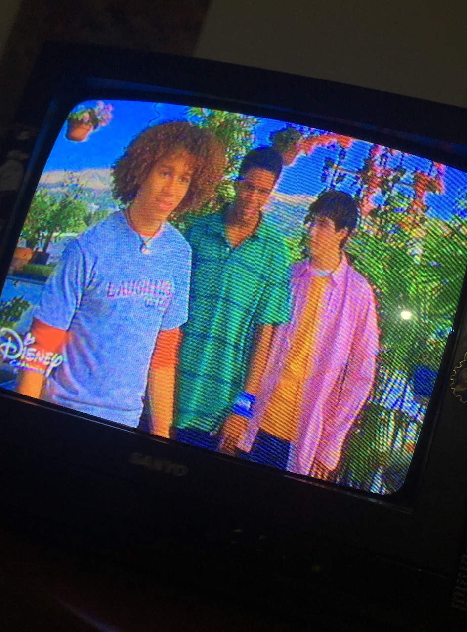 2000, tv, and vapor wave image
