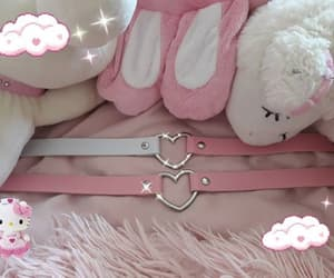 aesthetic, plush, and choker image