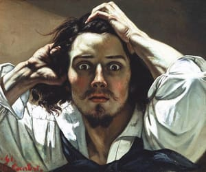 aesthetic, art, and gustave courbet image