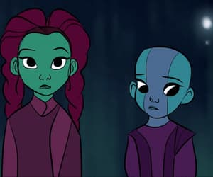 gif, nebula, and guardians of the galaxy image