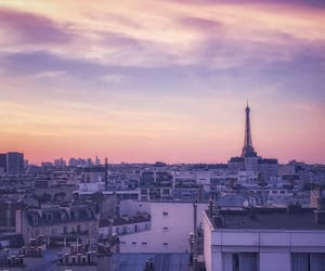 paris, photographie, and rooftops image