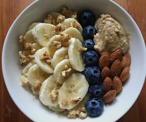 almond, breakfast, and fitness image