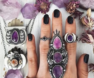 crystals, nails, and jewelry image