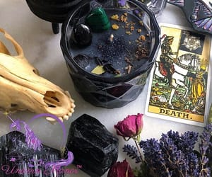 black, spiritual, and crystals image