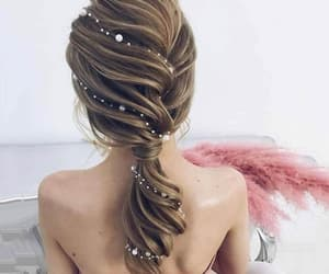 hair, weddings, and hair style image